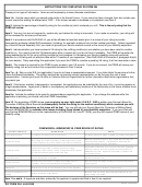 Dd Form 294 - Application For A Review By The Physical Disability ...