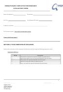 Probationary Employee Performance Evaluation Form