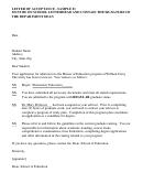Letter Of Acceptance Sample