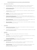 Work Performance Evaluation Factor Definitions