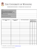 Training/orientation Record