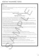 Sample Financial Hardship Letter Template
