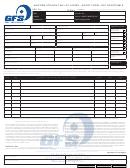 Uniform Straight Bill Of Lading - Short Form