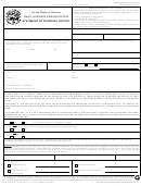 Form Sba 912 (5-97) - Statement Of Personal History Form