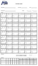 Pitching Chart