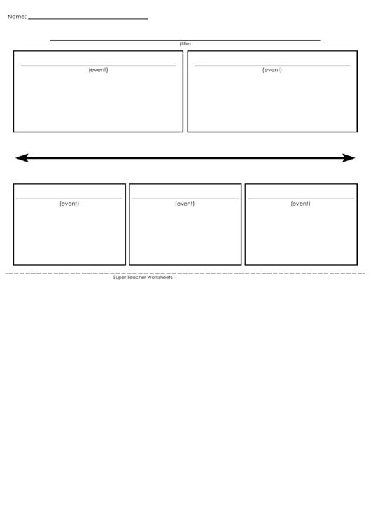 Event Planning Timeline Template Printable pdf