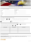 Post Office Vehicle (pov) New Site Form