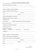 Ex-im Bank Trade Reference Form