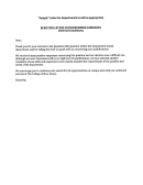 Rejection Letter Template To Interviewed Candidate