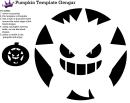 Pumpkin Template Gengar