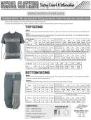 Schooltee School Clothing Sizing Chart