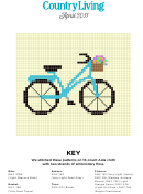 Bike Cross-stitch Pattern