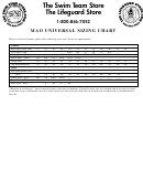 Mao Universal Sizing Chart