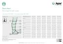 Juzo Expert/juzo Expert Cotton Socks Size Chart