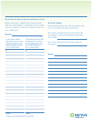 Monthly Account Reconciliation Form