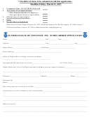 Scholarship Application Junior League Of Longview