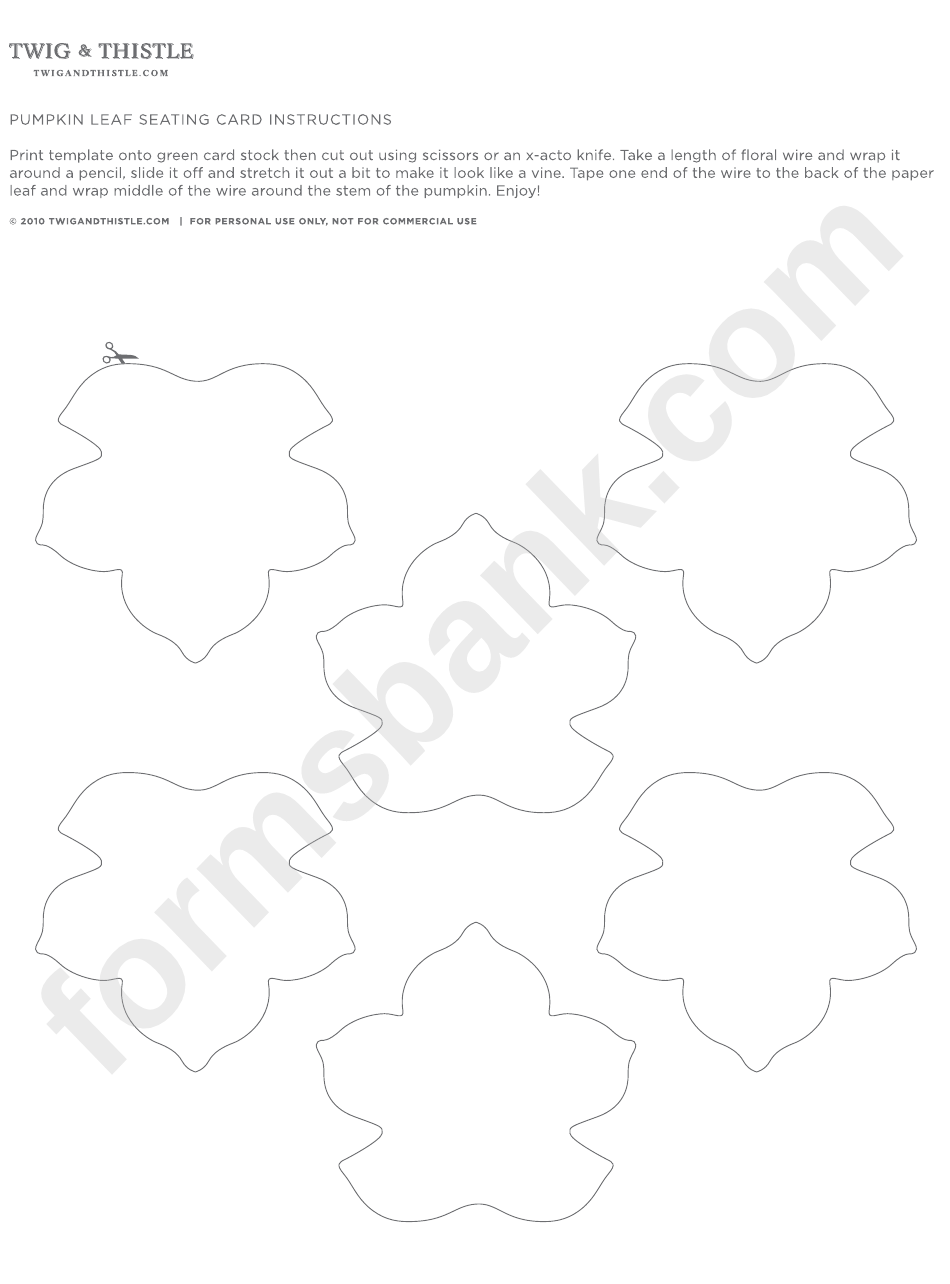Pumpkin leaf template gallery professional report for Page break in rtf template