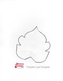 Pumpkin Leaf Template