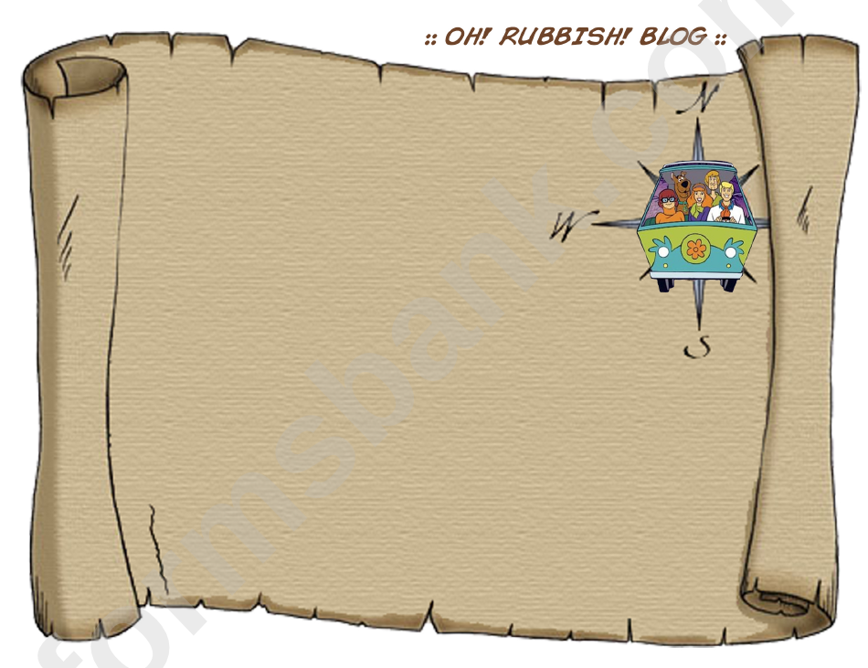 Blank Treasure Map Template Printable Pdf Download