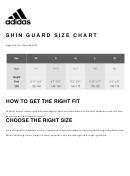 Adidas Shin Guard Size Chart