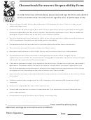 Chromebook Borrowers Responsibility Form
