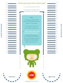 Umi Shoe Size Chart