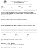 Referral For Communication And Assistive Technology Evaluation