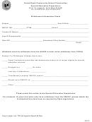 Withdrawal Information Sheet