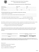 Medical Referral For Homebound Instruction Due To Medical Reasons