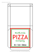 Pizza Box Template