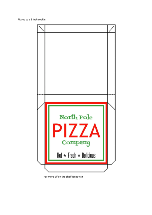 Top Pizza Box Templates Free To Download In Pdf Format