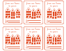 House Gift Tag Template