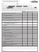 Alabama Department Of Public Health Milk Tank Truck Inspection Form