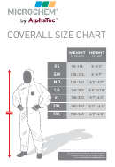 Microchem By Alpatech Coverall Size Chart