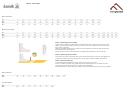 Kamik Exxpozed Foot Size Chart