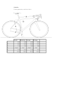 Bellati Sport Power+ Frame Geometry And Size Chart