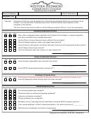 Separation Exit Checklist