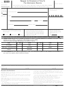 Form 8809 - Application For Extension Of Time To File Information Returns
