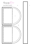 Paper Mailbox Template