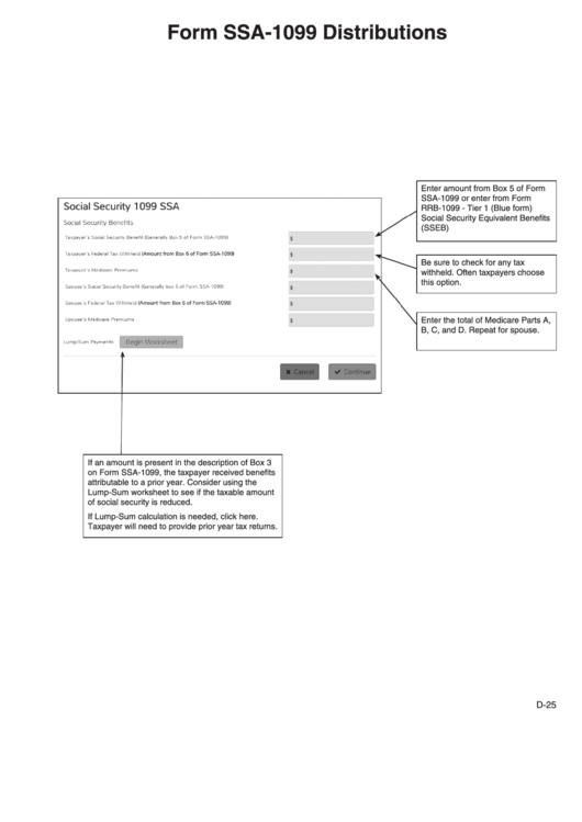 Top Ssa 1099 Form Templates Free To Download In Pdf Format