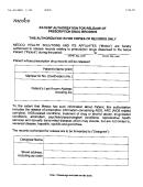 Medco Patient Authorization For Release Of Prescription Drug Records