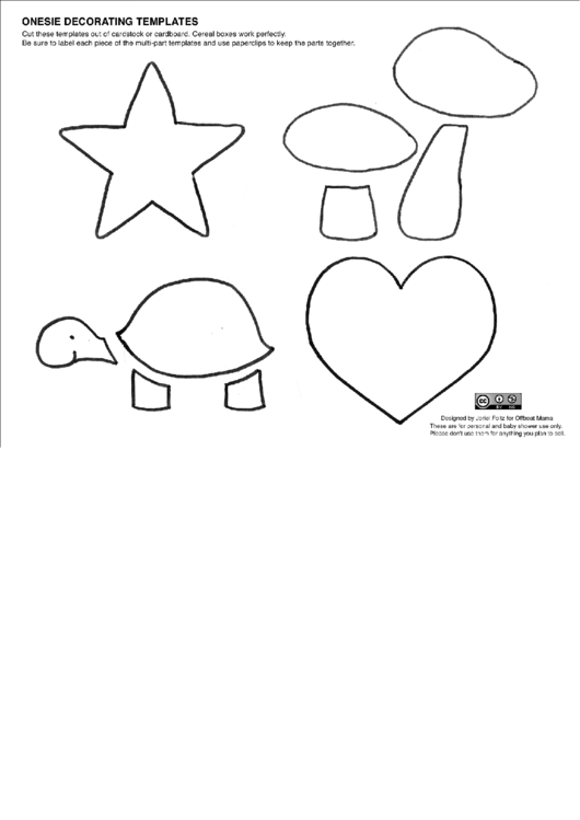 top onesie templates free to download in pdf format