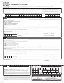 Duplicate Certificate - Aqha