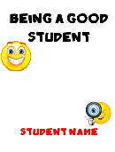 Student All About Me Book Template