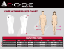 C.o.d.e. Knee And Leg Warmers Size Chart