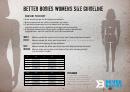 Better Bodies Womens Size Chart