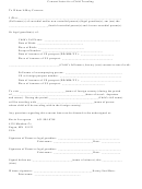 Consent Letter For A Child Traveling