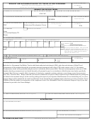 Dd Form 1610, Request And Authorization For Tdy Travel Of Dod Personnel