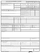 Dd Form 1746, Application For Assignment To Housing