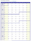 Weekly Calendar Template From Monday - 2018